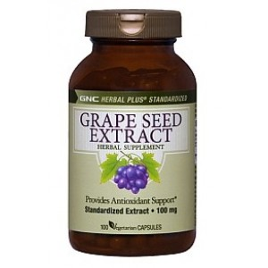Buy GNC Grape Seed Extract 100mg (100 Caps) - Nykaa
