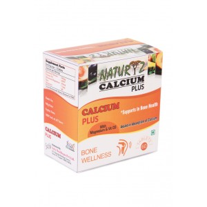 Buy Naturyz Calcium Plus with Vitamin D3 - 60 Tablets  - Nykaa