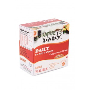 Buy Naturyz Daily Multivitamin - 60 Capsules - Nykaa