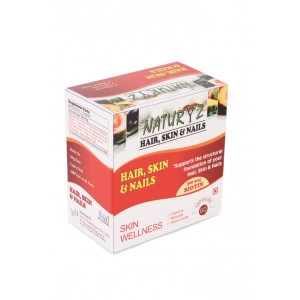Buy Naturyz Hair, Skin, Nails Formula - 60 Capsules - Nykaa