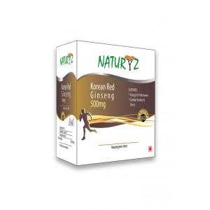 Buy Naturyz Korean Red Ginseng 500 mg - 60 Capsules - Nykaa