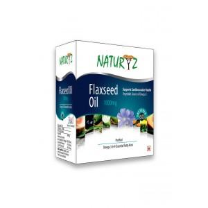 Buy Natyryz Flaxseed oil 1000mg - 60 Capsules - Nykaa