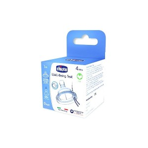 Buy Chicco Well-Being Fast Flow Silicon Teat (4M+) - Nykaa