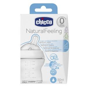 Buy Chicco Natural Feeling Bottle (0M+) - Nykaa