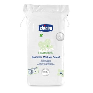 Buy Chicco Soft Cotton Squares Baby Moments - Nykaa