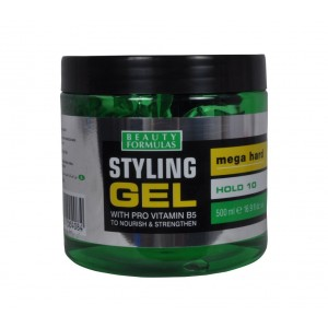 Buy Beauty Formulas Styling Gel with Pro Vitamin B5 Mega Hard - Nykaa