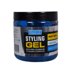 Buy Beauty Formulas Styling Gel Wet Look With Blue Pro Vitamin B5 - Nykaa