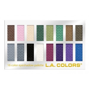 Buy L.A. Colors 16 Color Eyeshadow Palette - Smokin - Nykaa