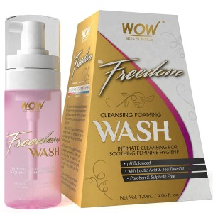 Buy Wow Freedom Intimate Cleansing Foam Wash for Women - Nykaa