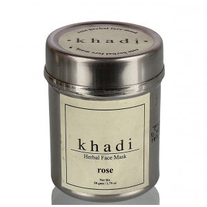 Buy Khadi Natural Herbal Face Mask - Rose - Nykaa
