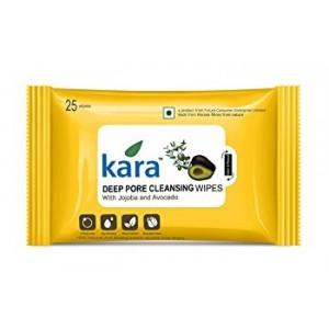 Buy Kara Deep Pore Cleansing Wipes With Jojoba And Avocado (30 Wipes) - Nykaa
