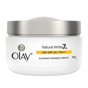 Buy Olay Natural White All In One Fairness Skin Cream Spf24 50 Gm - Nykaa