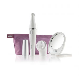 Buy Braun Face 830 Premium Edition - Facial Epilator & Facial Cleansing Brush - Nykaa