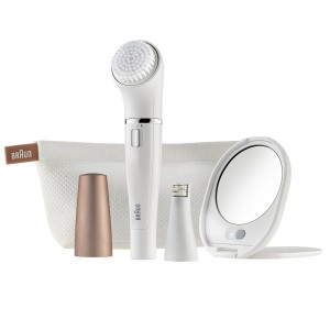 Buy Braun Face 831 Beauty Edition - Facial Cleansing Brush + Mini Epilator - Nykaa