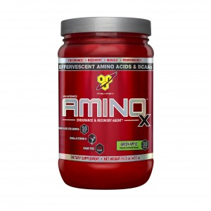 Buy BSN Amino X Muscle Recovery Supplement (Green Apple) - 30 Servings - Nykaa