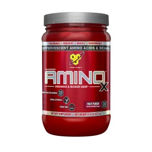 Buy BSN Amino X Muscle Recovery Supplement (Fruit Punch) - Nykaa