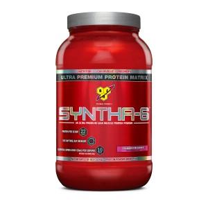 Buy BSN Syntha-6 Protein Powder (Strawberry Milkshake) - Nykaa