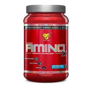 Buy BSN Amino X Muscle Recovery Supplement (Blue Raspberry) - 70 Servings - Nykaa