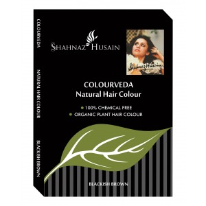 Buy Shahnaz Husain Colourveda Natural hair Colour  - Nykaa