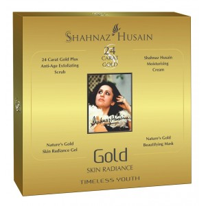 Buy Shahnaz Husain 24 Carat Gold Skin Radiance Timeless Youth - Nykaa