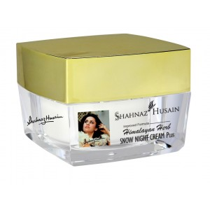 Buy Herbal Shahnaz Husain Himalayan Herb Snow Night Cream Plus - Nykaa