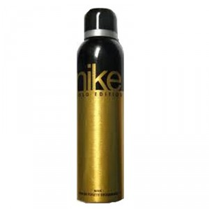 Buy Nike Men Gold Deo Spray - Nykaa