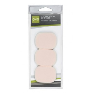 Buy QVS 3 Foundation Sponges - Rectangle - Nykaa