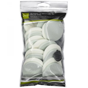 Buy QVS 20 Make-Up Sponges Value Pack - Round - Nykaa