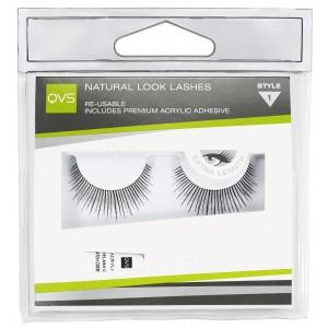 Buy QVS Natural Look Lashes - Style 1 - Nykaa