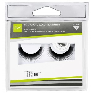 Buy QVS Natural Look Lashes - Style 4 - Nykaa