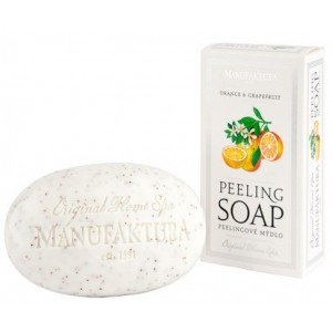 Buy Manufaktura Orange And Grapefruit Herbal Spa Soap With Almond Oil - Nykaa