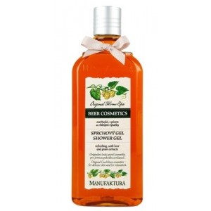 Buy Manufaktura Refreshing Beer Shower Spa Gel - Nykaa