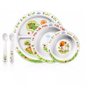 Buy Philips Avent Toddler Mealtime Set 6M+ - Nykaa