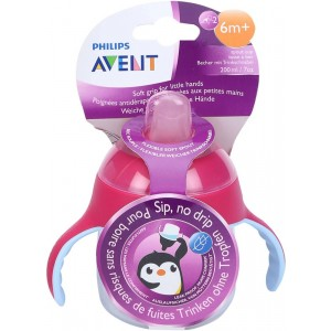 Buy Philips Avent Premium Soft Spout Cup - Pink - Single Pack - Nykaa