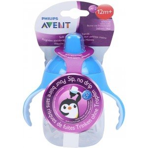 Buy Herbal Philips Avent Premium Spout Cup - Blue - Single Pack - Nykaa