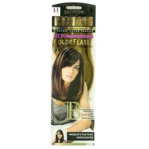 Buy Balmain Paris Color Flash 40Cm Hair Extension - L6 & Chocolate Brown - Nykaa