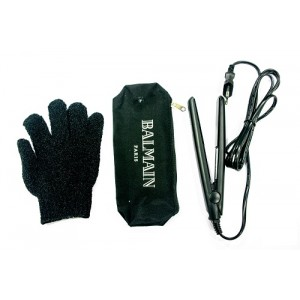 Buy Balmain Paris Mini Straightener Black - Nykaa