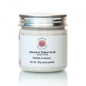 Buy Harmony Aromatherapy Almond & Walnut Facial Scrub - Nykaa