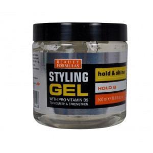 Buy Beauty Formulas Styling Gel Hold & Shine With Pro Vitamin B5 - Nykaa