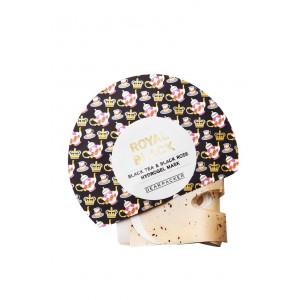 Buy DearPacker Royal Black Tea & Black Rose Hydrogel Mask - Nykaa