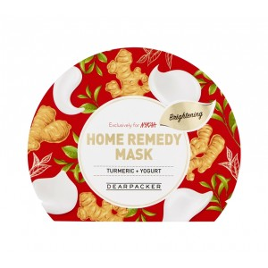 Buy DearPacker Home Remedy Mask - Turmeric + Yogurt - Nykaa