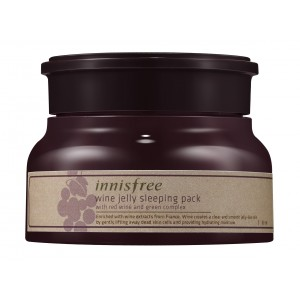 Buy Innisfree Wine Jelly Sleeping Pack  - Nykaa