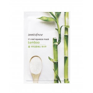 Buy Innisfree It's Real Squeeze Mask - Bamboo - Nykaa