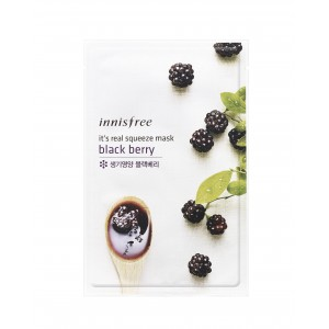 Buy Innisfree It's Real Squeeze Mask - Black Berry - Nykaa