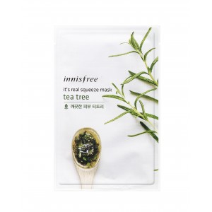 Buy Innisfree It's Real Squeeze Mask - Tea Tree  - Nykaa