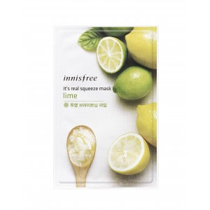 Buy Innisfree It's Real Squeeze Mask - Lime - Nykaa