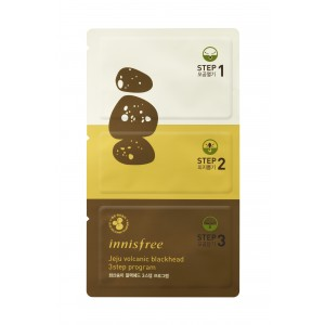 Buy Innisfree Jeju Volcanic Blackhead 3 Step Sheet - Nykaa