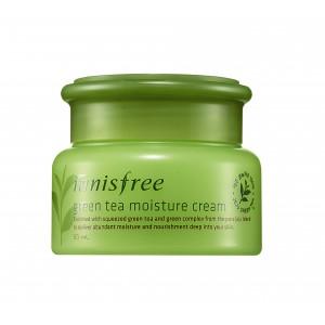 Buy Herbal Innisfree Green Tea Moisture Cream - Nykaa