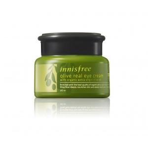 Buy Herbal Innisfree Olive Real Eye Cream - Nykaa