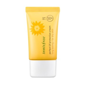 Buy Innisfree Perfect UV Protection Cream Long Lasting SPF50+ PA+++ For Dry Skin - Nykaa